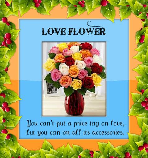 LOVE FLOWER.