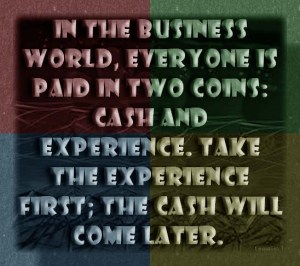 Experience!